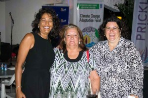 From left to right: Jessica Bensley- CEO Skyviews inc., Pancy Cross- Grenada Hotel & Tourism Association Jennifer Alexis- Ethical Ideas