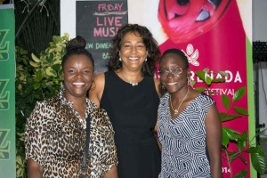 From left to right:  Judy Brewster, Jessica Bensley, Tamika Graham (Skyviews Inc)