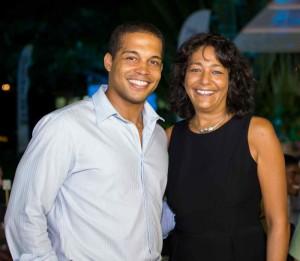 Zack Samuel, General Manager Calabash Hotel & Jessica Bensley, CEO SKyviews Inc.